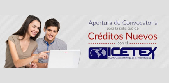 Convocatoria de créditos educativos ICETEX