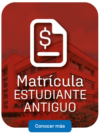 Matrícula Estudiante Antiguo