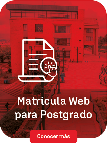 Matrícula web Postgrado