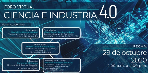 Foro Virtual - Ciencia e Industria 4.0